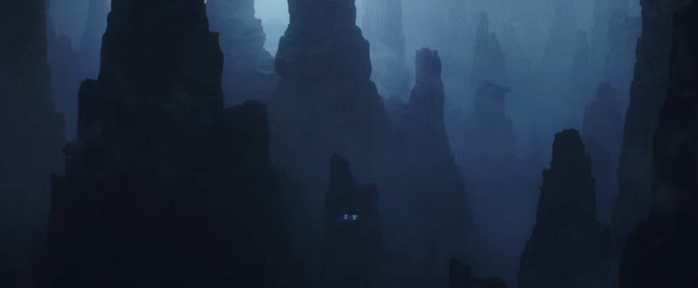 Eadu, melyet a rendező Gareth Edwards szerint az Alien-beli LV-426-ról mintáztak