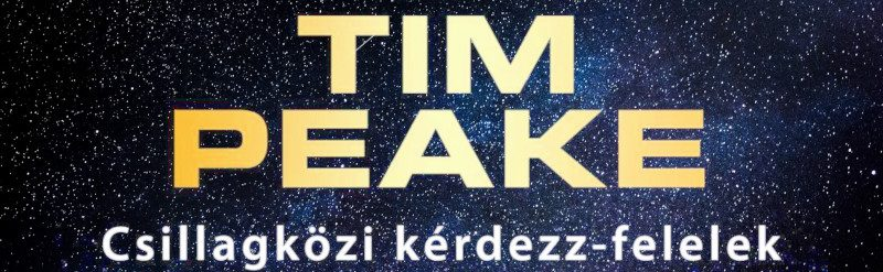Tim Peake: Csillagközi kérdezz-felelek