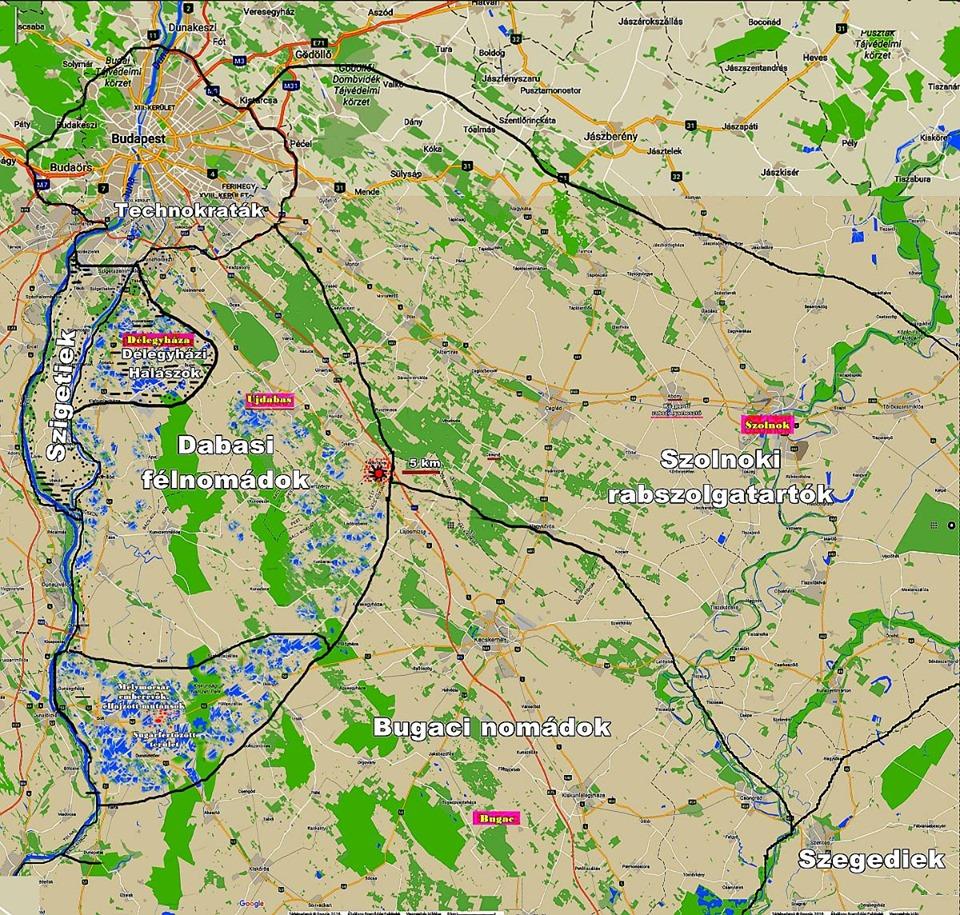 Sápadtak - térkép (forrás: Urbánszki László)
